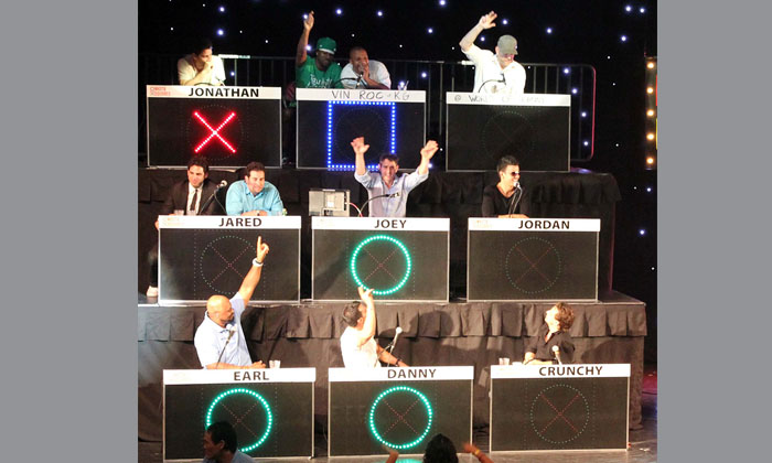 NKOTB Celebrity Tic Tac Toe-Fun with New Kids On The Block