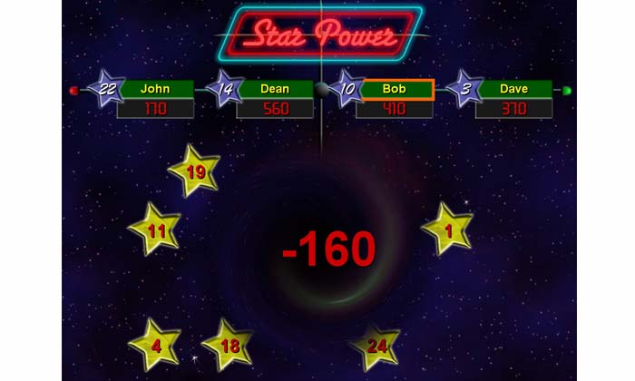Black Hole in Star Power Software