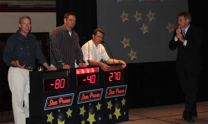 Corporate Game Show with Star Power in San Diego California