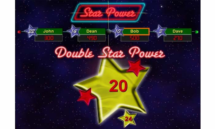 Double Star power screen shot