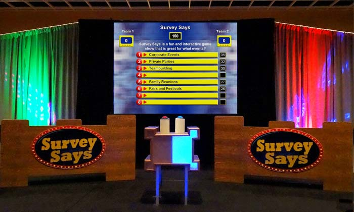 One of the most popular game shows-Survey Says