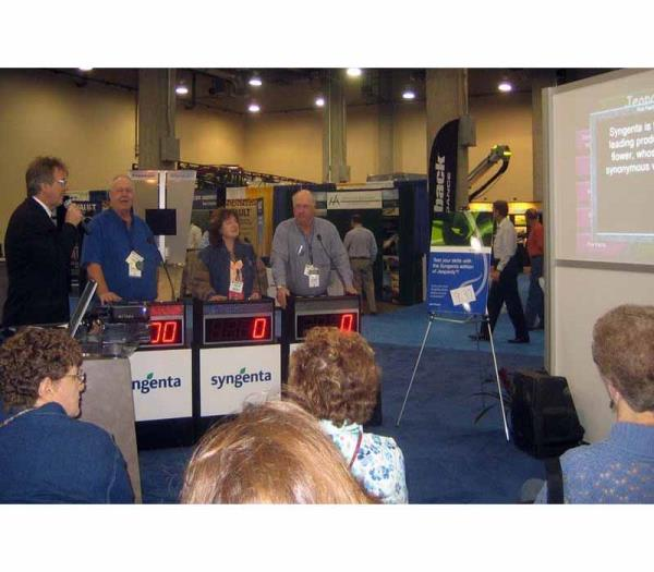 Trade Show Challenge game show in Austin Texas