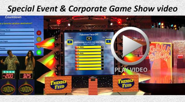Special Event & Corporate Game Show video