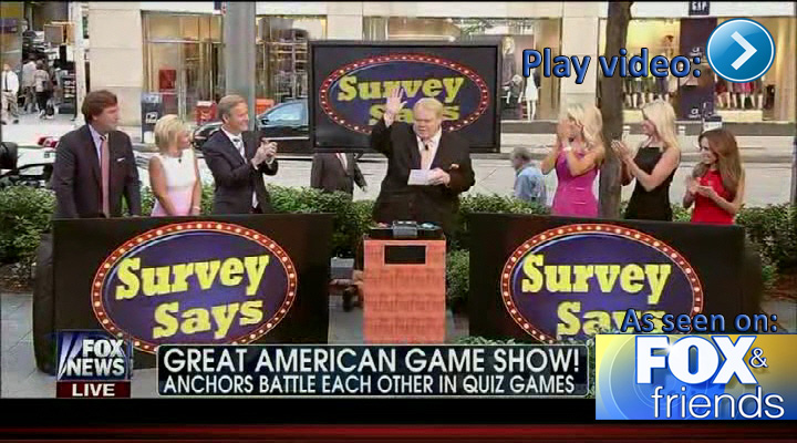 Survey Says with Louie Anderson on Fox & Friends