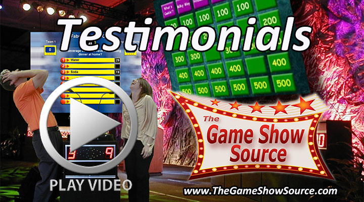 The Game Show Source Testimonials video