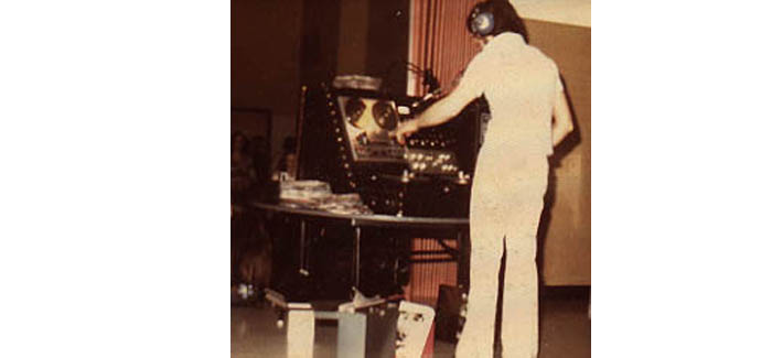 DJ Dean Stanley back in 1974