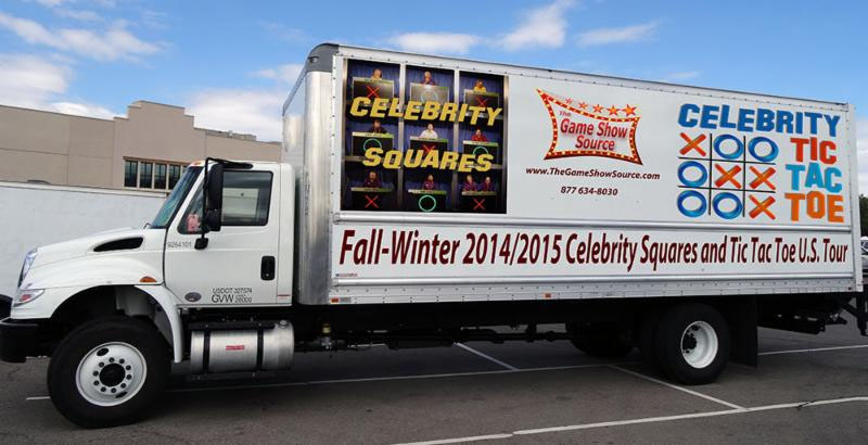 Picture of Celebrity Squares Tour Truck