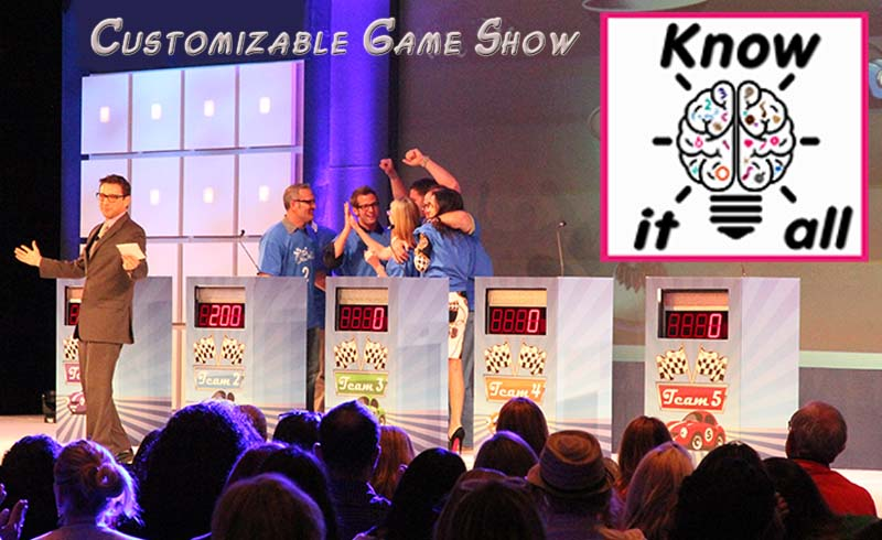 Know It All-Customizable Game Show