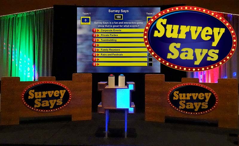 Survey Says-fun team play game show