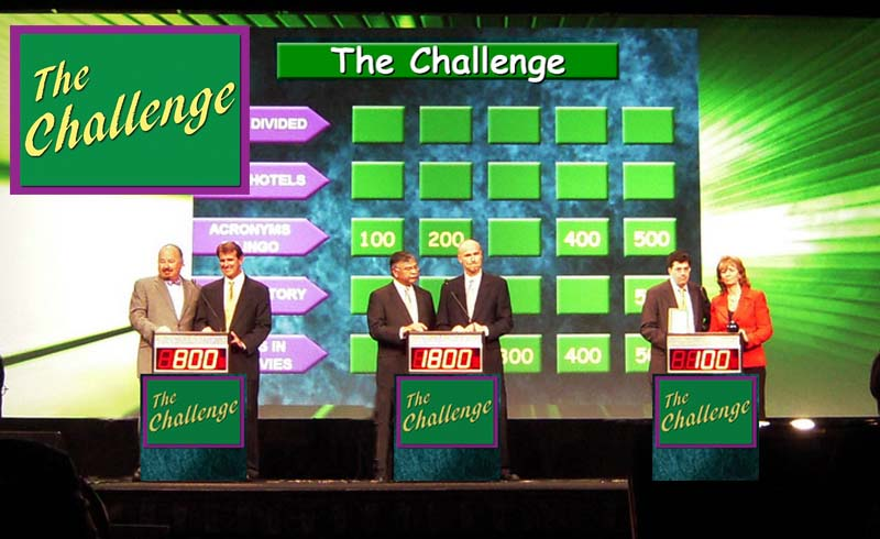 The Challenge-Question and Category Game Show for party