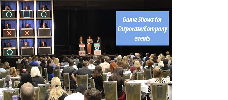 Corporate/company game show events.
