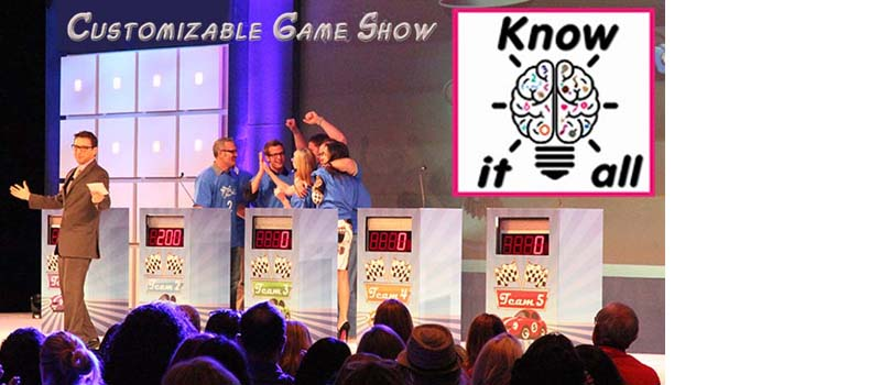 Know It All most versatile custom game show